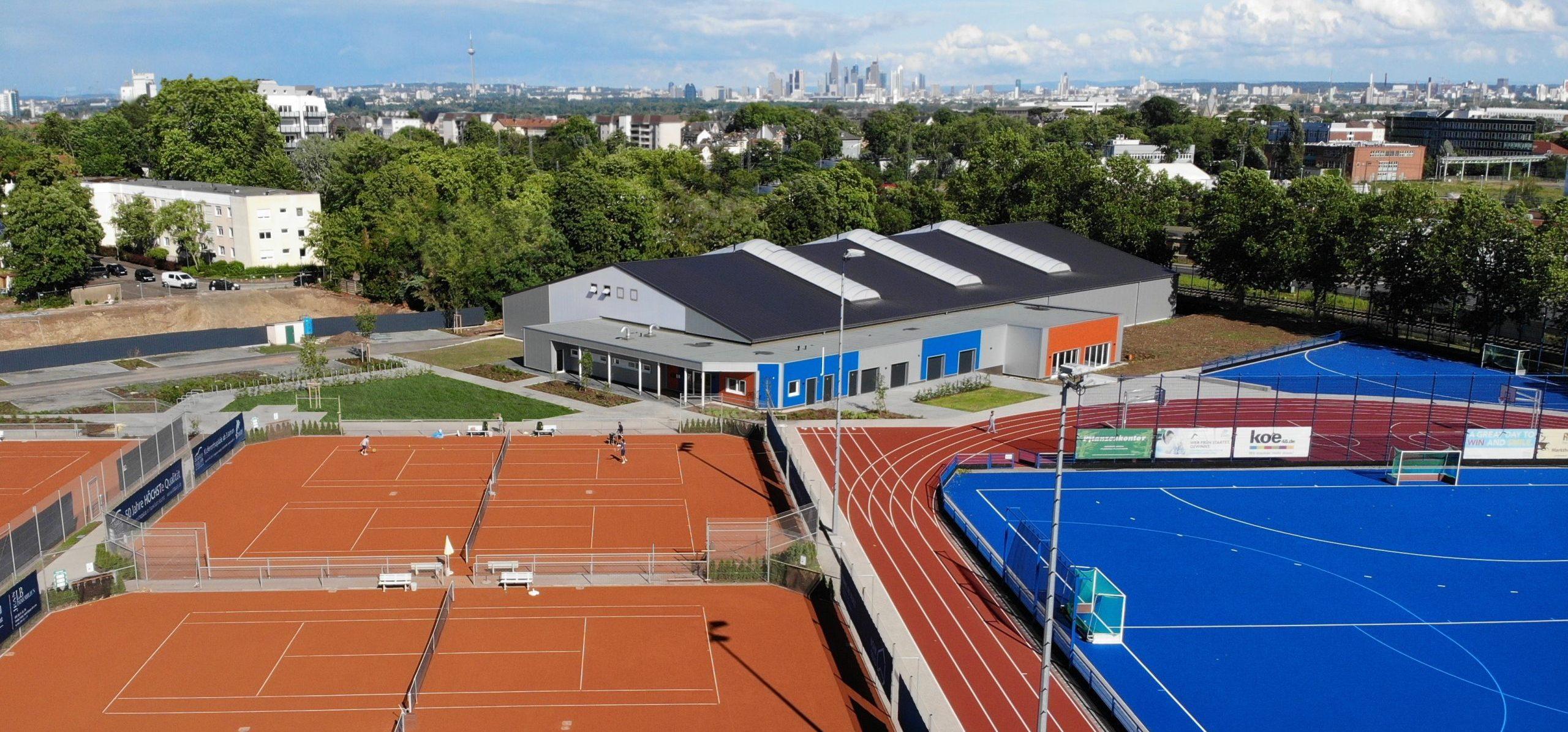 Tennis Hockey Höchst Kunstrasenplatz